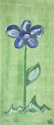 Bild mit Farben,Natur,Pflanzen,Blumen,Blau