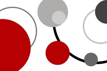 Bild mit Farben, Rot, Abstrakt, Abstrakte Kunst, Retro, Retro Art, Retro style