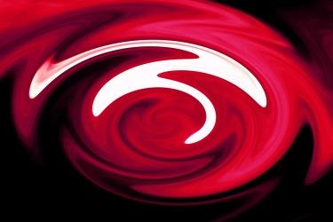 Bild mit Farben,Gegenstände,Rot,Figuren und Formen,Spiralen