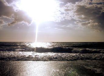 Bild mit Wasser,Gewässer,Küsten und Ufer,Meere,Strände,Brandung,Wellen,Am Meer,VINTAGE