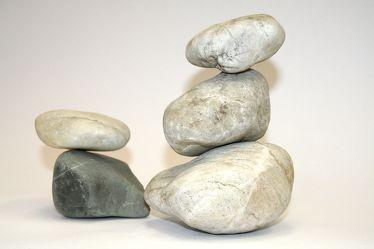 Bild mit Steine
