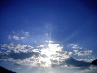 sunshine sky
