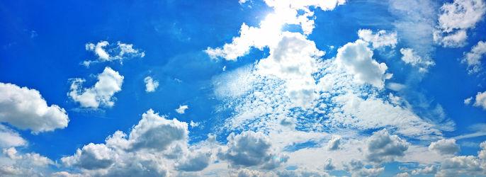 Bild mit Wolken, Sonnenuntergang, Blau, Sonnenaufgang, Wolkenhimmel, Sunset, Wolkengebilde, Sky, Wolken am Himmel, Himmel Panorama, Wolkenhimmel Panorama, Weitblick, Wolken Himmel, Hintergrund, cloud, clouds, Sonnen Himmel, Sonnenschein