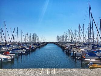 Bild mit Segelboote, Segelboote, Häfen, Segelboot, Grömitz, Hafenanlage, Yachthafen, Schleswig, Holstein, Ostholstein
